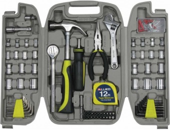 73% off Allied 120pc Home Repair Tool Set