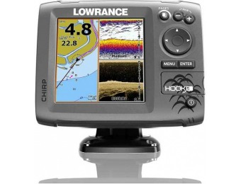 $170 off Lowrance Hook-5 CHIRP Transducer / GPS