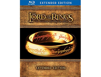 $74 off Lord of the Rings: Trilogy Blu-ray [15 Disc-Extended Edition]