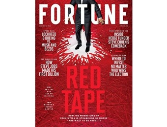 95% off Fortune Magazine - 1 year auto-renewal