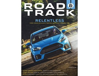 93% off Road & Track Magazine - 1 year auto-renewal