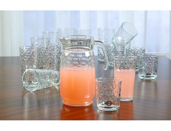 75% off Circleware Circle 17pc. Drinkware Set