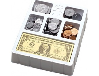 44% off Educational Insights Play Money Coins & Bills Tray