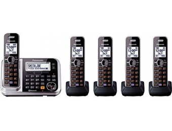 $71 off Panasonic KX-TG7875S Link2Cell Bluetooth Cordless Phone