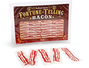 93% off Fortune Telling Bacon (50 strips), promo code: EYEONIT