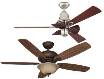 Extra 35% off Select Hampton Bay Ceiling Fans at Home Depot