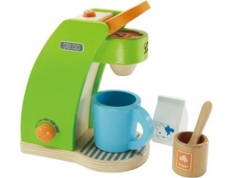 52% off Hape Playfully Delicious Coffee Maker Wooden Play Set