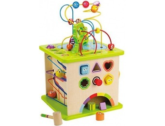 47% off Hape Country Critters Wooden Activity Play Cube