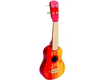 78% off Hape Early Melodies Red Ukulele Wooden Instrument