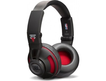$110 off JBL Synchros S300 Headphones NBA Edition - Bulls