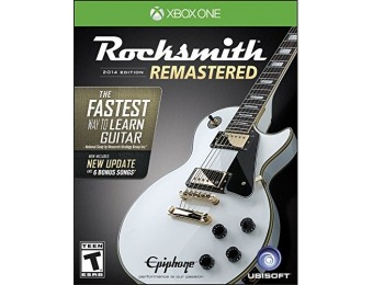 50% off Rocksmith 2014 Edition Remastered - Xbox One