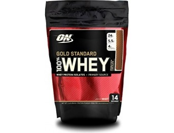 52% off Optimum Nutrition Gold Standard 100% Whey, 1 Pound