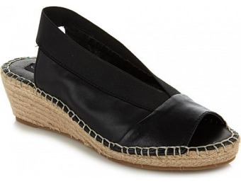 "89% off Steve Madden ""Indiggoo"" Leather Espadrille Wedge"