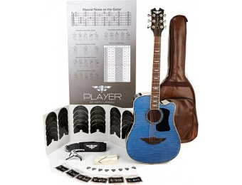 "86% off Keith Urban Junior ""PLAYER"" Tour Guitar 50-pc Package"