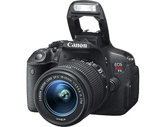 $80 off + Free Camera Bag with Canon EOS Rebel T5i DSLR Camera
