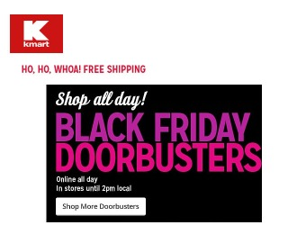 Shop Kmart.com Black Friday Doorbuster Deals