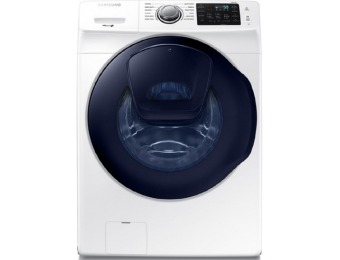 $450 off Samsung AddWash HE Front-Load Washer WF45K6200AW