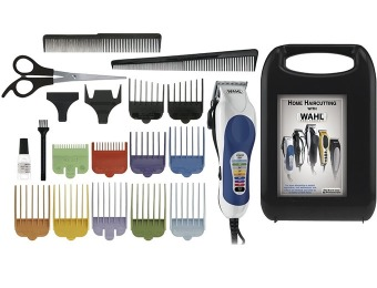 37% off WAHL Corded Color Pro 20-Pc Color Coded Haircut Kit