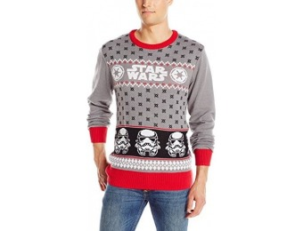 67% off Star Wars Men's Storm Holiday Sweater