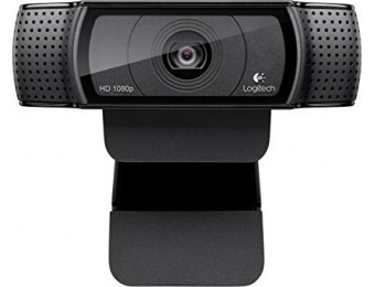 $50 off Logitech HD Pro 1080p Webcam C920