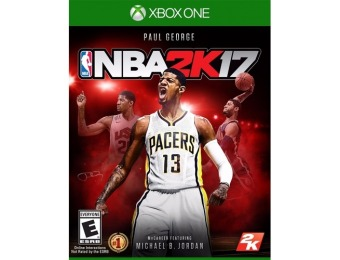 $35 off NBA 2K17 Standard Edition - Xbox One