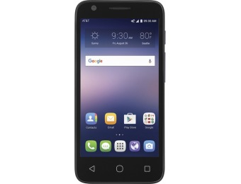 62% off AT&T GoPhone Alcatel Ideal 4G Prepaid Phone