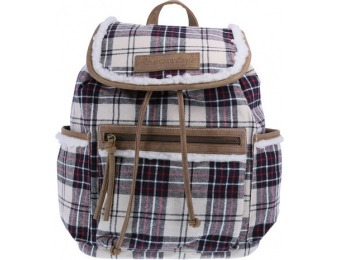 75% off Women's Plaid Clover Backpack