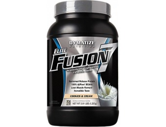 51% off Elite Fusion 7 Protein Supplement