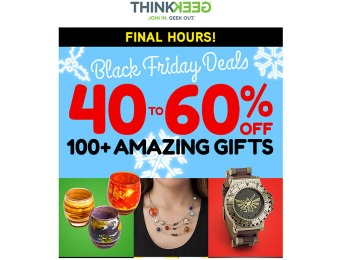ThinkGeek Black Friday Sale - 40% - 60% off Amazing Gifts