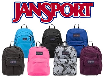 50% off JanSport Laptop Backpacks (7 styles, from $12.99)