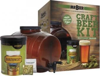 50% off Mr. Beer Northwest Pale Ale Starter Kit