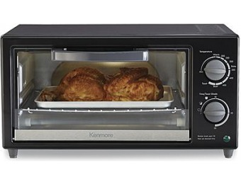 57% off Kenmore 4-Slice Toaster Oven - Black