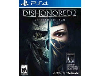 59% off Dishonored 2 - PlayStation 4