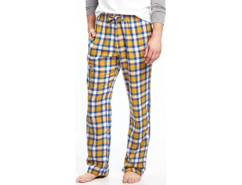 74% off Old Navy Plaid Flannel Sleep Pants For Men
