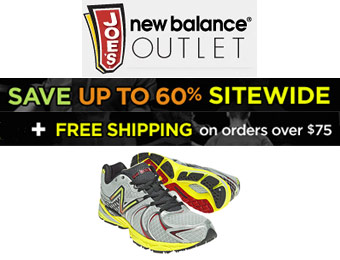 Up to 60% off Sitewide at Joe's New Balance Outlet