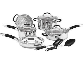 50% off Cuisinart Pro Classic 10-Pc Stainless-Steel Cookware Set