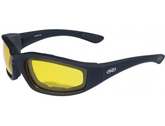 63% off Global vision Kickback Safety Glasses, Yellow Lens