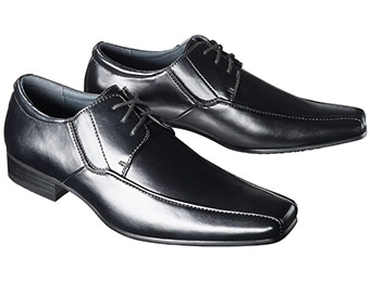 20% off Mossimo Men's Black Dress Shoes