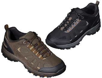 20% off Men's Merona Tag Flat Hiker Trail Shoes (3 colors)