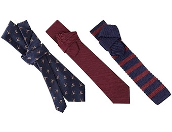 30% off Men's Fall Tie Collection (Merona and City of London)