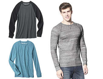 28% off Mossimo Supply Co. Men's Long Sleeve Thermal (10 colors)
