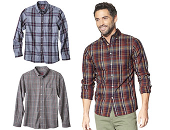 26% off Merona Long Sleeve Tailored Fit Twill Button Downs