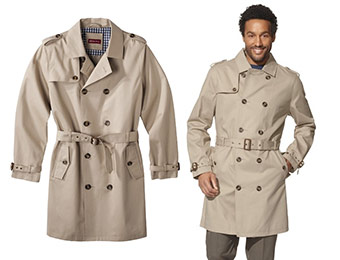 30% off Merona Men's Trench Coat (Vintage Khaki)