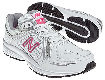 54% off New Balance 655 Women's Walking Shoes WW655WS2