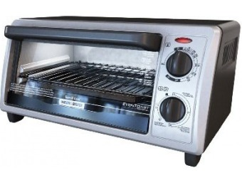 66% off Black & Decker 4-Slice Toaster Oven/Broiler