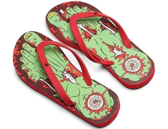 48% off Zombie Flip Flops with promo code: EYEONIT