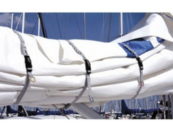 71% off Blue Performance Sail Tie with Clip, Medium