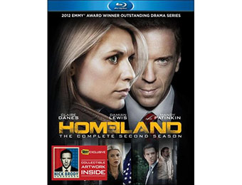 50% off Homeland: The Complete Second Season (Blu-ray)
