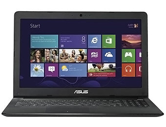 "$130 off Asus X502 15.6"" HD LED Laptop (Intel Celeron/4GB/320GB)"