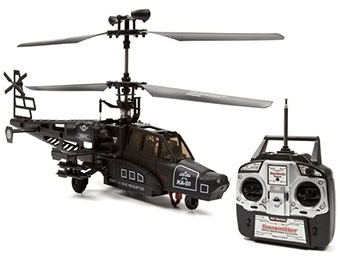 60% off GYRO F438 Black Shark 4.5CH Electric RC Helicopter
